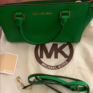 Michael Kors leather hand bag